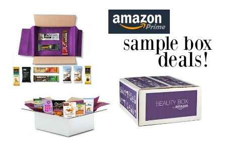sample box deals