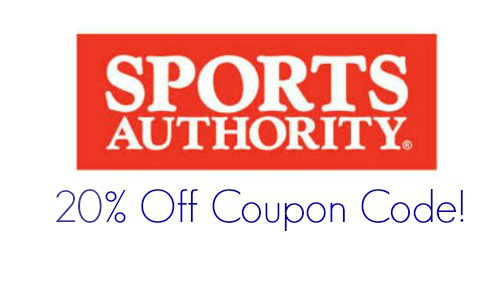 picture relating to Sports Authority Coupons Printable titled Athletics authority coupon 20 off / Print Discount codes