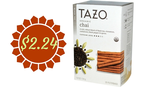 tazo tea coupon