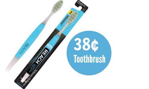 reach ultra toothbrush deal