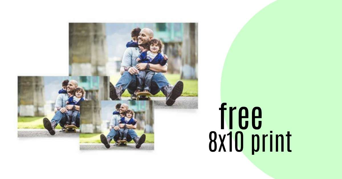 8x10 photo coupon