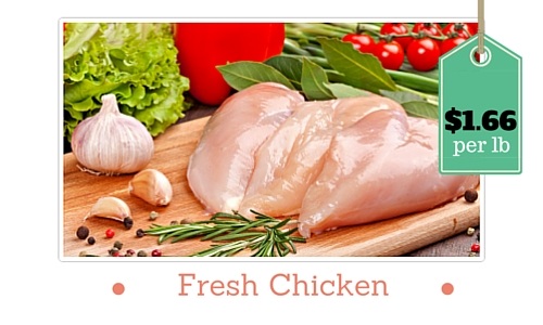 fresh chicken breasts zaycon