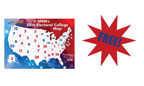 Electoral College Map Cspan
