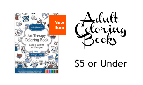Hollar.com: Adult Coloring Book Sale