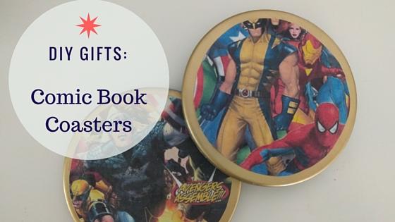 DIY Comic Book Coasters (2)
