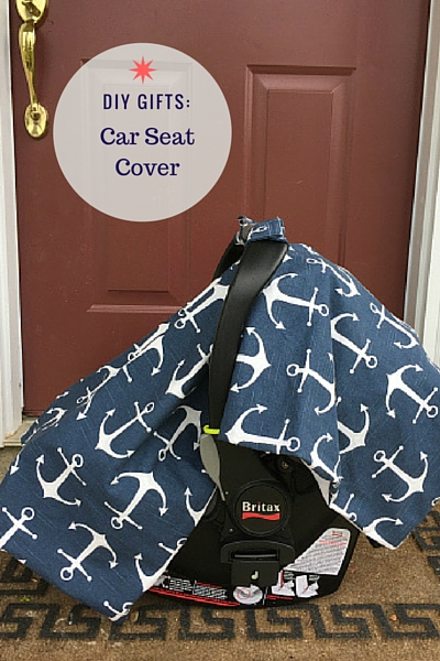 DIY Gifts Car Seat Cover