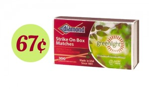 Diamond Matches Coupon