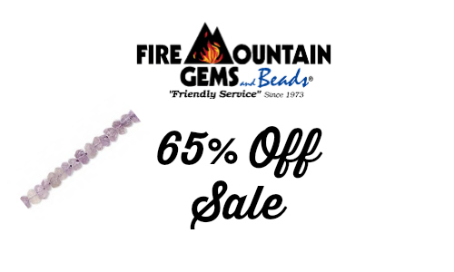 Fire Mountain Gems: Gemstone and Pearl Sale