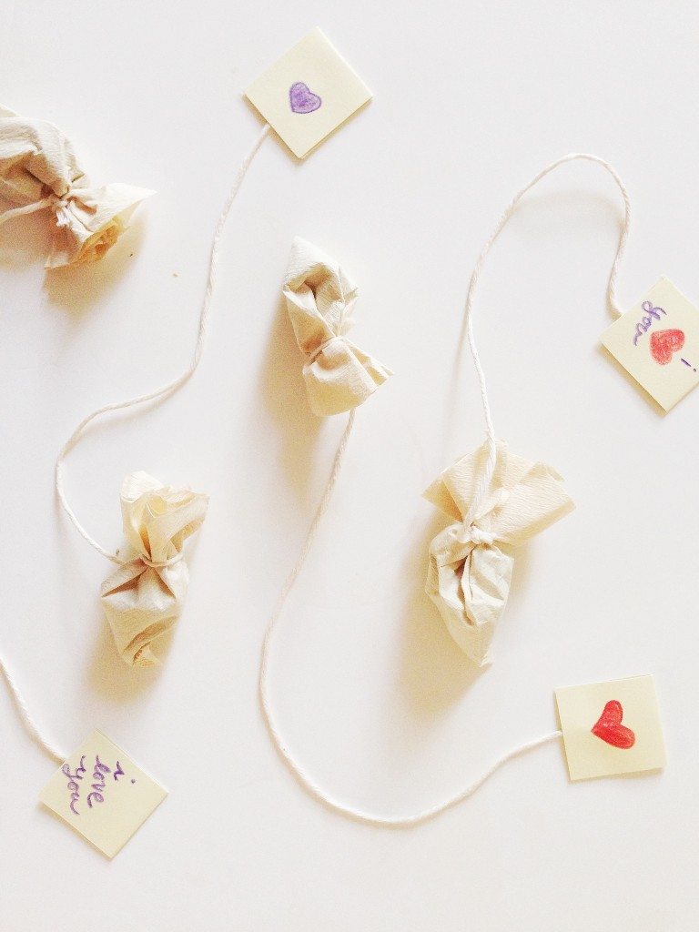 DIY Gifts: Homemade Tea Bags :: Southern Savers