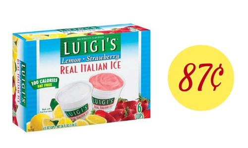 Italian Ice Coupon