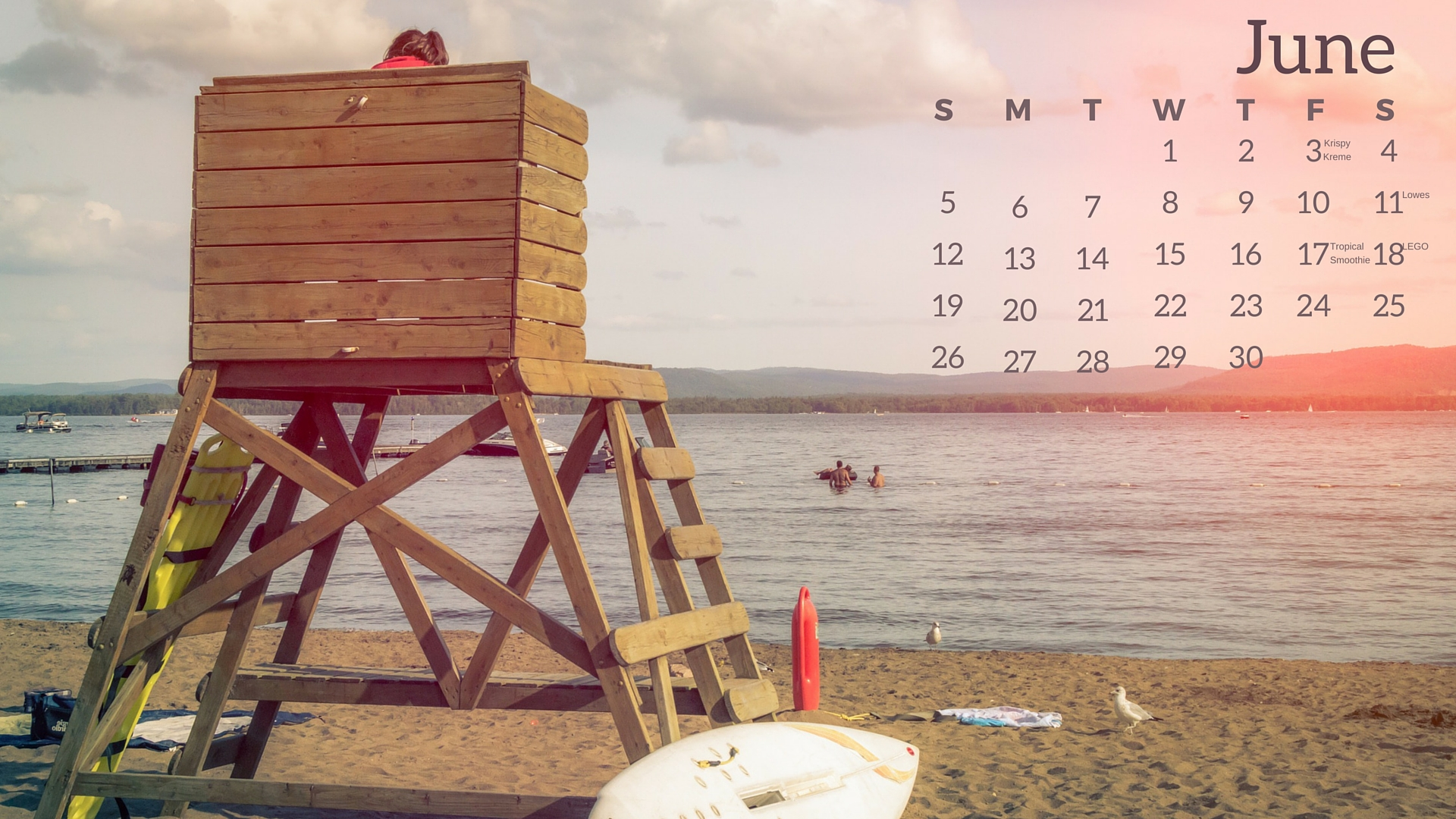 June Freebies Desktop Calendar(2)