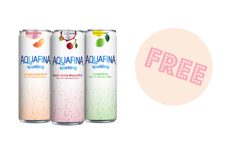 Kroger Friday Freebie: Aquafina Sparkling Water