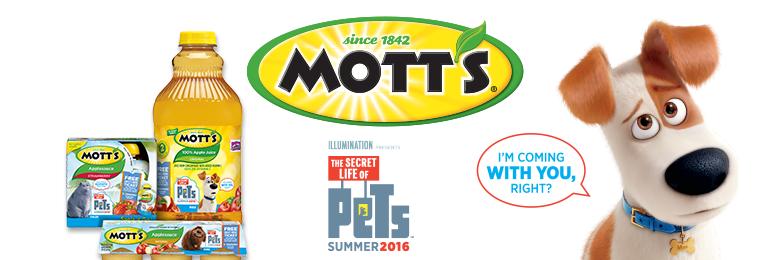 secret life of pets mott's