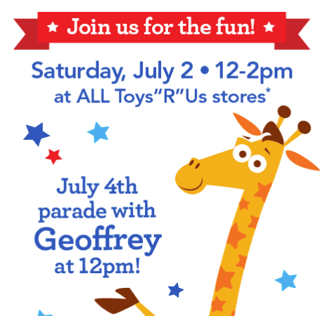 4th of July Event at Toys R Us