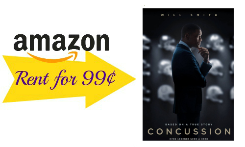 Amazon Instant Video | Rent Concussion for 99¢