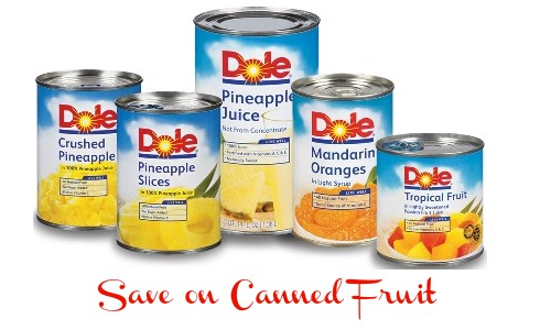 canned fruit dole coupon