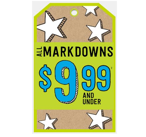 Kids Clothing Sale, $9.99 and Under
