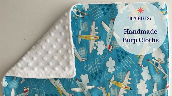 diy gift  easy burp cloth tutorial    southern savers