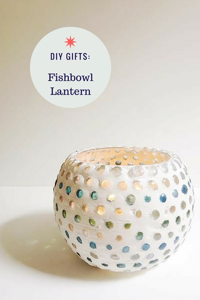 diy fishbowl lantern