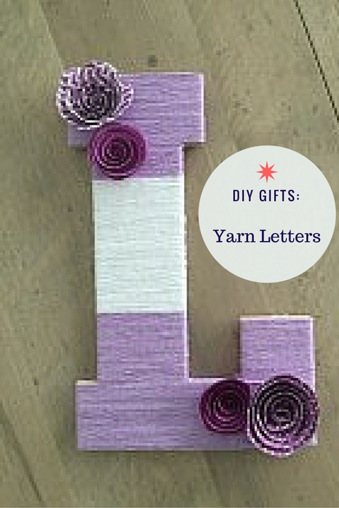 Diy Gifts Yarn Wrapped Letters Southern Savers