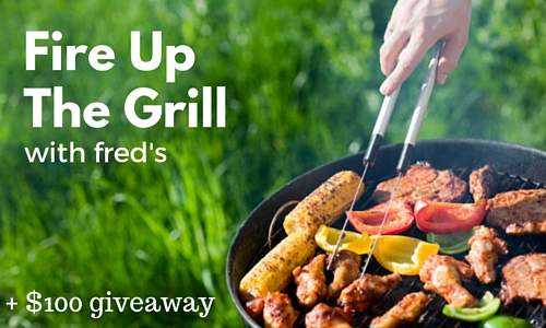fire up the grill at fred's