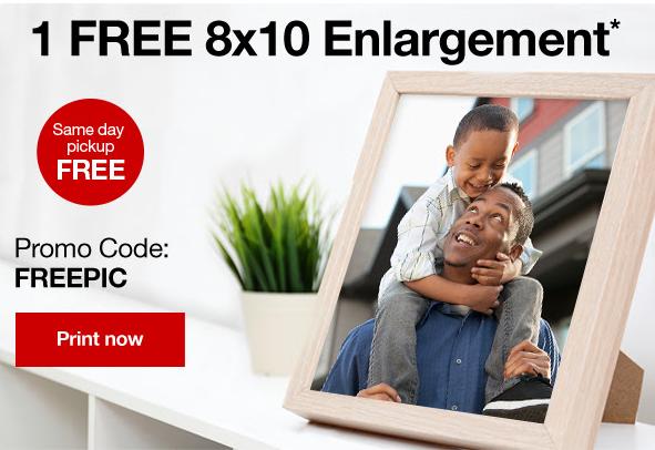 free 8x10 photo print    southern savers