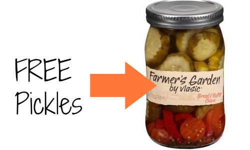 Publix deal free vlasic farmer 39 s garden pickles southern savers for Vlasic farmer s garden pickles