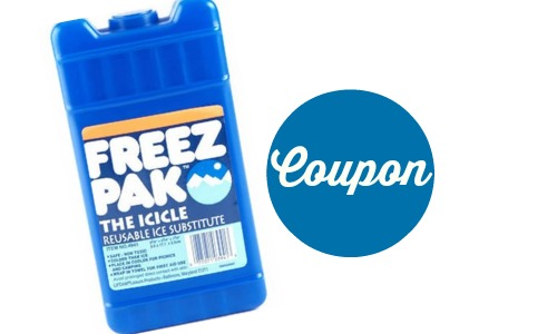 freez pak coupon