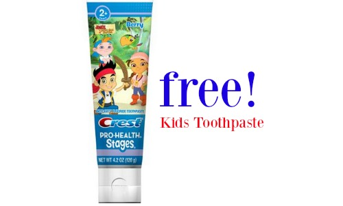 kids toothpaste crest coupon