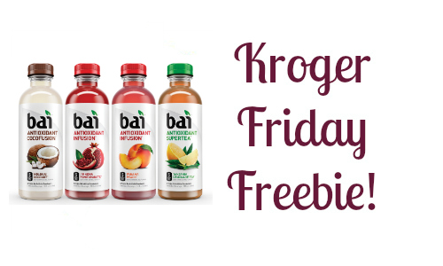 Kroger Friday Freebie: Bai or Bai Bubbles