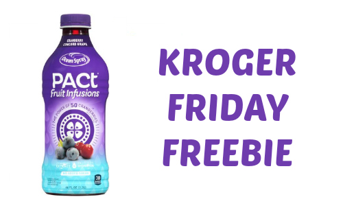 Kroger Friday Freebie: Ocean Spray Fruit Infusion