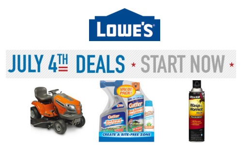 lowes july 4 deals