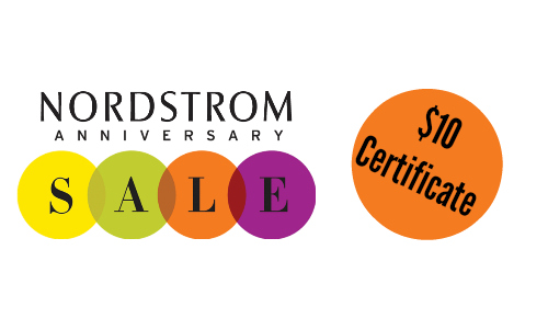 Nordstrom Rewards: $10 Promotional Certificate