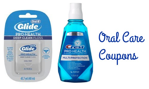 oral care coupons