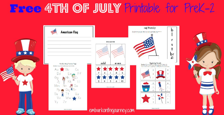 Free Preschool Printable Pack