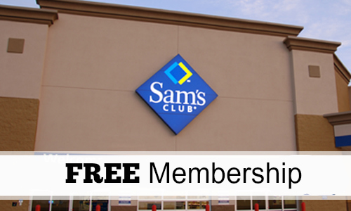 Free Membership at Sam's club for West Virginia