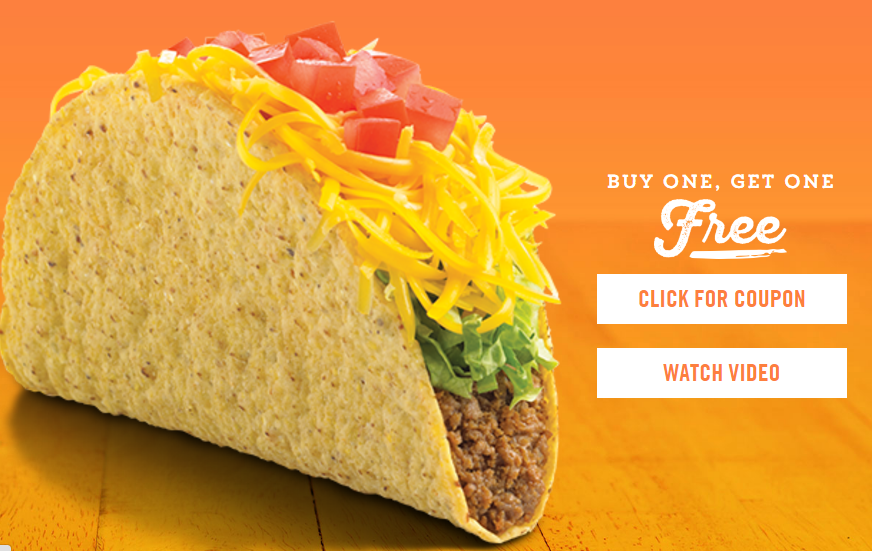 Del Taco: Buy One Taco, Get One Free :: Southern Savers