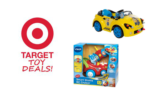 Target: Electric Toy Cars Sale