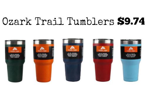 Ozark Trail Colored Tumbler 9 74 Southern Savers