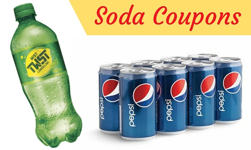 Soda Coupons