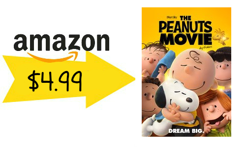 Amazon Instant Video: The Peanuts Movie, $4.99