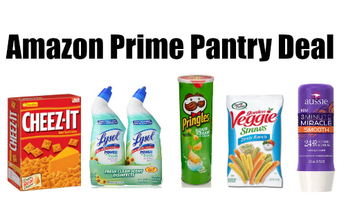 amazon prime pantry deal