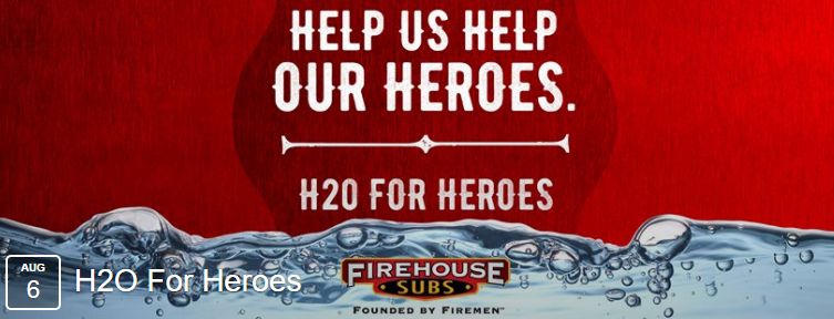 Firehouse Subs: Free Sub, 8/6