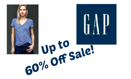 Gap Sale: Up to 60% Off