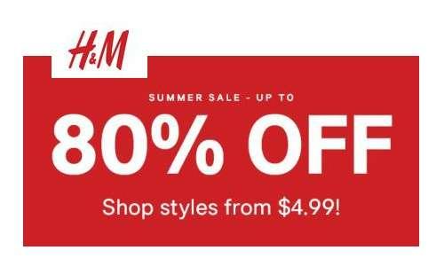 h m summer sale items starting at southern savers. Black Bedroom Furniture Sets. Home Design Ideas