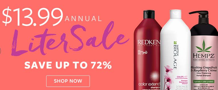 designer shampoo liter sale   13 99    southern savers