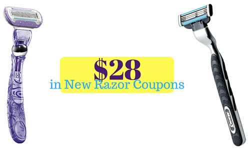new razor coupons