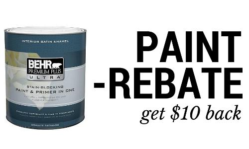 paint rebate