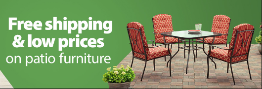 Walmart: Clearance on Patio Furniture