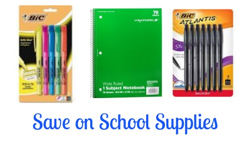 school supplies bic coupons